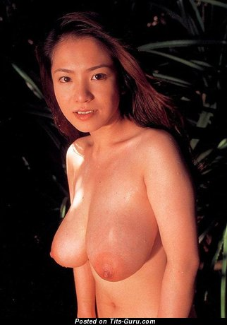 Anna Ohura - Delightful Japanese Bimbo with Delightful Nude Real Ddd Size Tots (Sexual Picture)