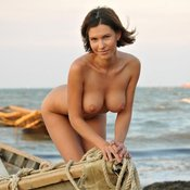 Hot female with big natural boobs photo