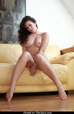 Image. Hot female with natural tots photo