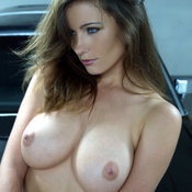Kyla Cole - nude brunette with medium natural boobies picture