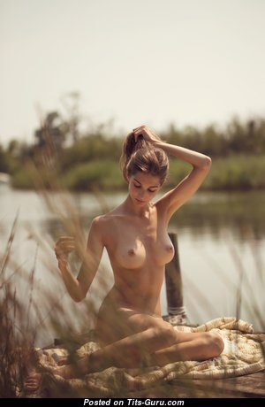 Perfect Glamour Undressed Woman with Huge Nipples (Private Hd 18+ Pic)
