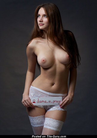 Image. Topless red hair with big natural tittys picture