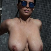 Ewa Sonnet - nice female with huge natural boobs image