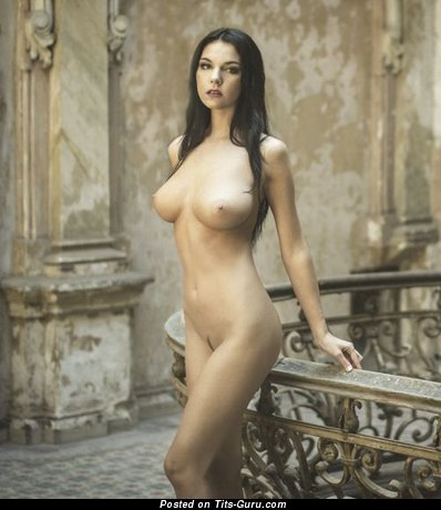 Image. Wonderful female with big natural boobies picture