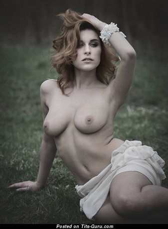 Image. Nude wonderful female with medium boobs image