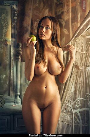Anna Reis - Elegant Russian Playboy Red Hair Babe & Girlfriend with Elegant Bald Real Ddd Size Boob & Sexy Legs (on Public Xxx Photo)
