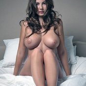 Nice woman with huge tittes image