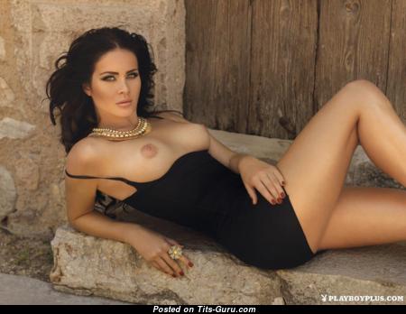 Anastasiya Nikitina - Hot Topless Kazakhstani Brunette with Hot Defenseless Natural Hooters (Hd Porn Picture)