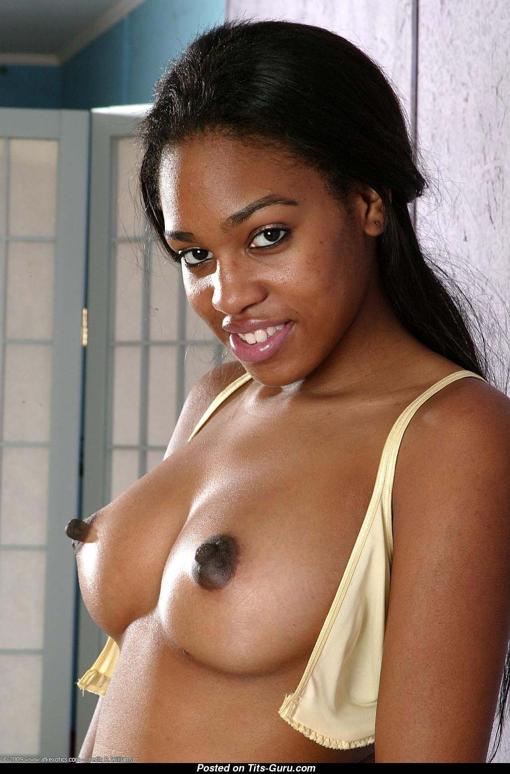 Black huge nipples