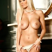Malene Espensen - blonde with big tots photo