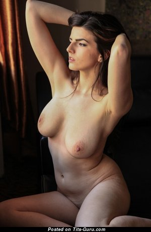 Image. Nude awesome girl with natural boobies image