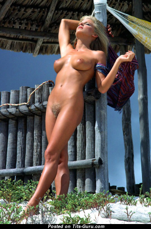 Dona Speir - Amazing Topless American Playboy Blonde Actress with Amazing Exposed Real Dd Size Busts & Inverted Nipples (Vintage Xxx Pix)