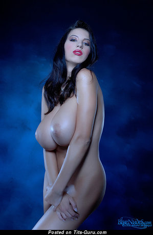 Image. Naked awesome woman with huge boob photo