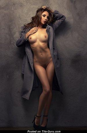 Image. Nude nice woman with medium boobs photo