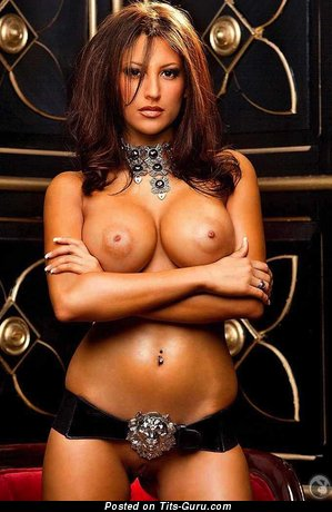 Image. Jesse Preston - naked brunette with big tittys pic