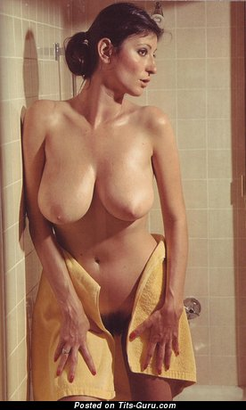 Grand Brunette with Grand Bald Real Regular Knockers (Vintage Hd 18+ Photo)