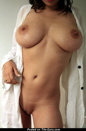 Alluring Chick with Alluring Defenseless Natural Normal Tittes (Hd Porn Image)