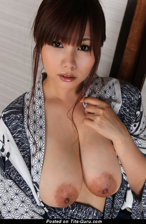 Image. Kanon Ohzora - naked asian with big natural tittes and big nipples image