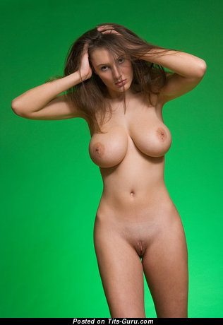 Image. Sexy nude beautiful woman with big natural tittes picture
