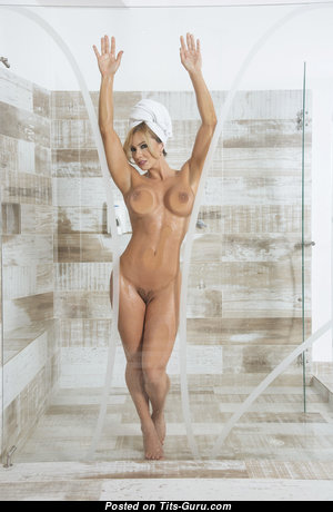 Esperanza Gomez - Fascinating Colombian Blonde Pornstar with Fascinating Nude Silicone Regular Tots is Undressing (Hd Sex Photo)