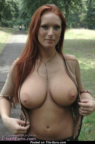 Alluring Nude Red Hair Babe (Private 18+ Foto)