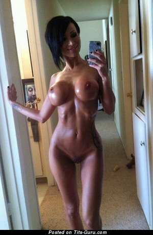 Image. Nude wonderful lady with big fake tittys pic