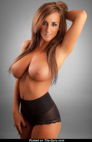 Image. Nude beautiful woman with big boob image