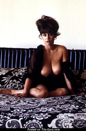 Fran Gerard - Delightful American Playboy Miss with Delightful Open Real Mid Size Chest (Vintage Xxx Foto)