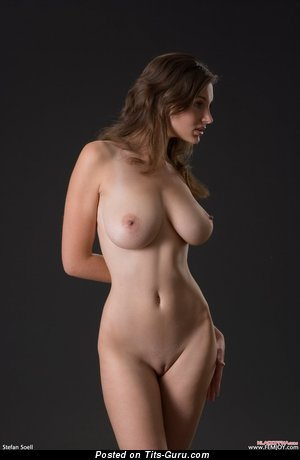 Image. Ashley - naked red hair with big natural tittys pic