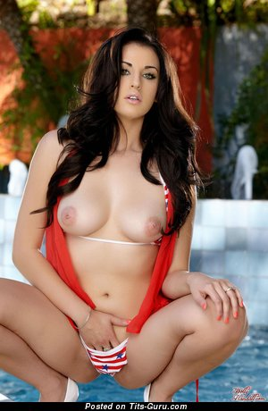 Aleigh Hotstein - Perfect Brunette with Perfect Exposed Real Medium Boobs (Hd Xxx Photoshoot)