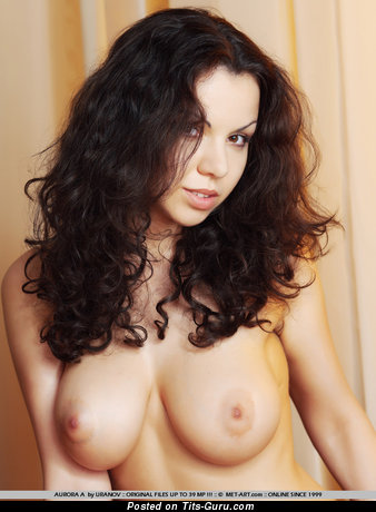 Christina Schmidt - Superb Russian Lassie with Superb Naked Real Dd Size Jugs (Xxx Pic)