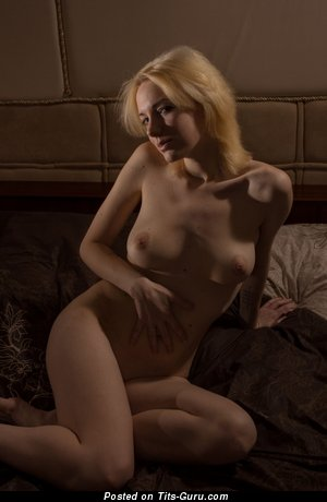 Image. Nude amazing girl with medium natural breast photo