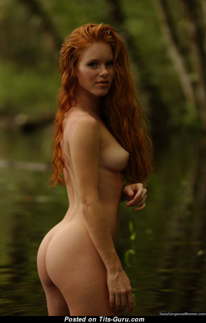 Heather Christensen - Fine Unclothed American Red Hair (Hd 18+ Photoshoot)