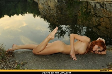 Fascinating Doxy with Fascinating Open C Size Boobs (Porn Foto)