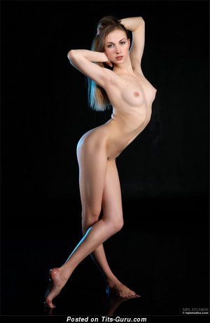 Image. Nude awesome lady with natural boobies picture