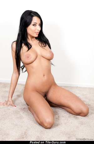 Image. Anissa Kate - naked awesome lady with medium natural boob image