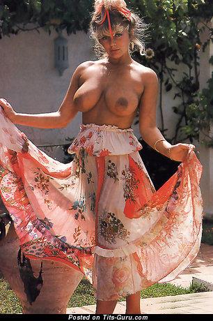 Image. Joanne Latham - nude blonde with medium natural boob vintage
