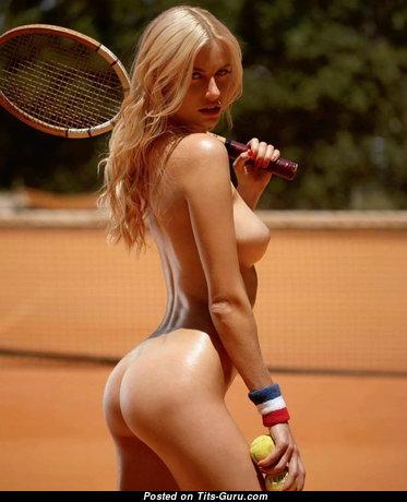 Olga De Mar - Elegant Blonde Babe with Elegant Nude Real Med Titty (Xxx Pix)