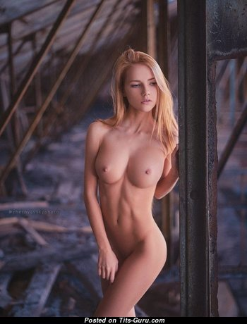 Alena Ushkova - Adorable Undressed Blonde (Sexual Photoshoot)
