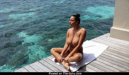 Image. Sensual Jane - nude hot woman with big natural boob picture