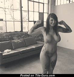Image. Nice woman with big breast gif