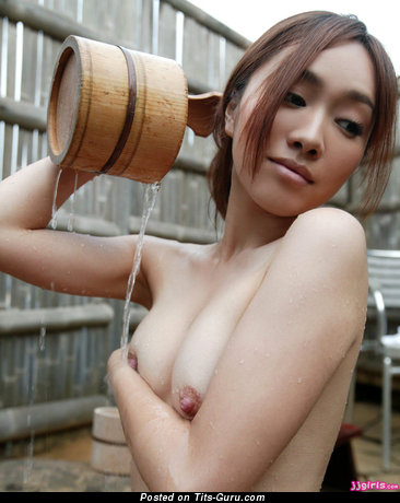 Image. Kanako - naked amazing lady with medium natural breast picture