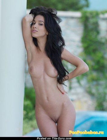 Image. Hot woman with natural boobs photo
