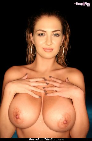 Ellis Attard - naked beautiful female with big breast image