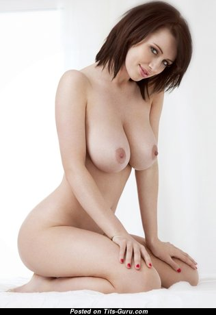 Sophie Howard - Handsome Glamour British Red Hair Babe with Handsome Bald Natural Ddd Size Tits & Erect Nipples (Hd Porn Picture)