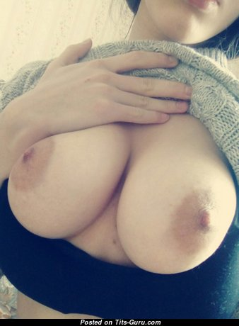 Superb College Brunette with Superb Exposed Real H Size Boobie (Private Selfie Hd Xxx Photoshoot)
