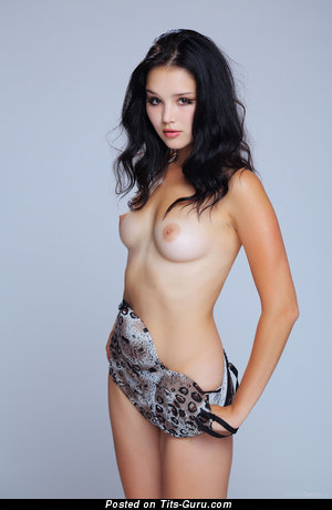 Image. Nude nice woman with medium natural boobs picture