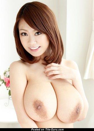 Ria Sakuragi - sexy naked nice lady with big natural boob pic
