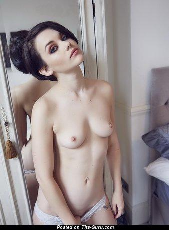 Melissa Clarke - naked brunette with natural boobies image