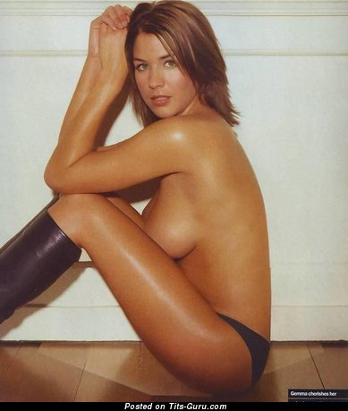 Gemma Atkinson - Grand British Blonde Actress with Grand Bald Normal Titty (18+ Picture)